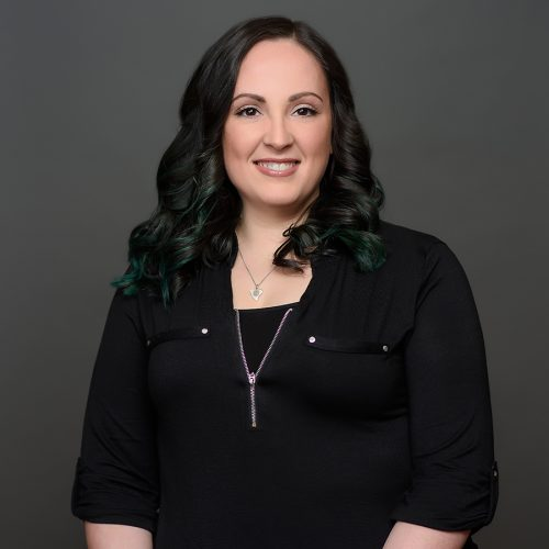 Kayla MacLeod - guest services at HS Studio salon and spa in Halifax NS