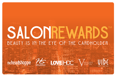 Salon Rewards Card - earn rewards at HS Studio in Halifax NS