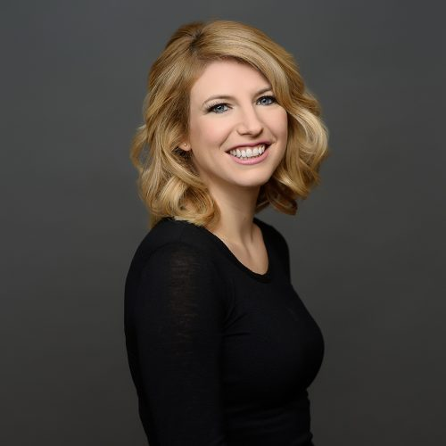 Courtney Spicer stylist at HS Studio salon and spa in Halifax NS