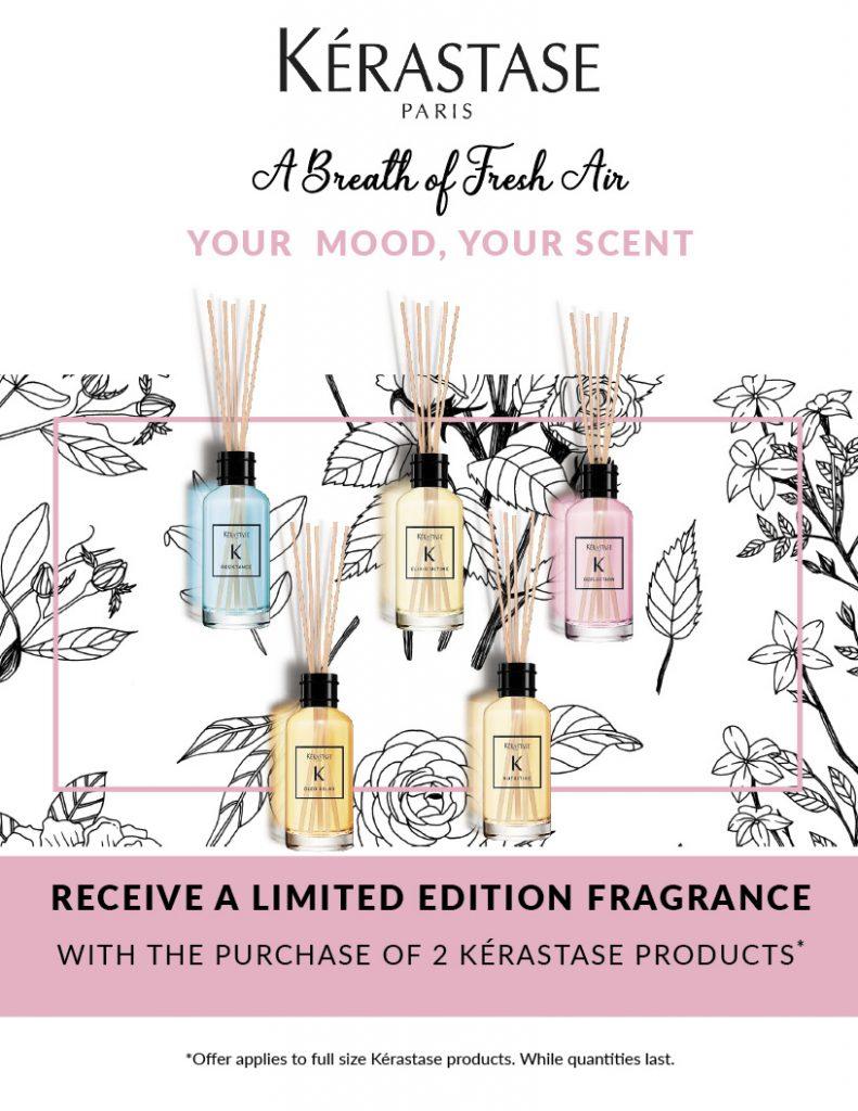 Kerastase Fragrance gift with purchase, HSS, HS Studio
